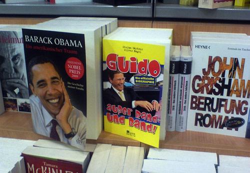 Obama, Guido und Grisham - drei Namen, die oft in einem Atemzug  genannt werden